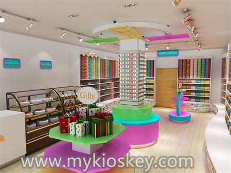 kids favourite candy display counter  candy shop