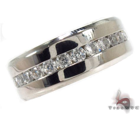 mens cheap cz stainless steel ring cheap mens ring