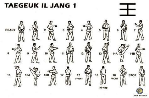 taekwondo yellow belt form www imgkid the image