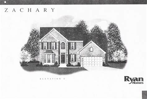 ryan homes house plans ryan homes zachary place floor plan house design plans