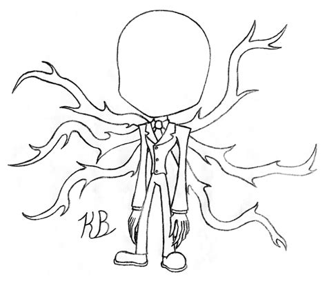 slender man coloring pages coloring pages