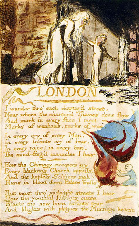 themes in london by blake william blake s engraving of quot london quot