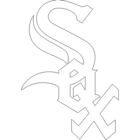 Sox Coloring Pages chicago white sox free coloring pages