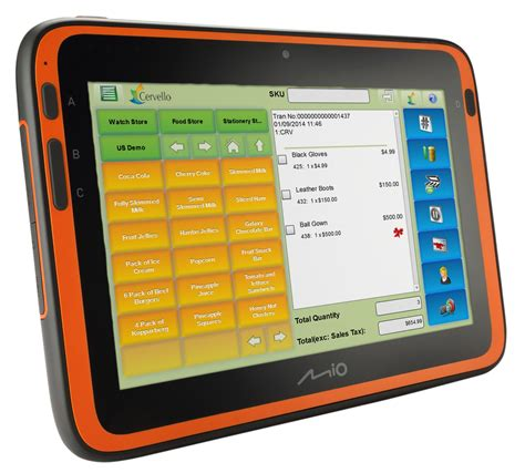 Semi Rugged Tablet by Mitac Releases Miowork Android Tablet For Retailers With