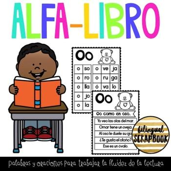 libro the reader on the mi alfa libro fluency reader in spanish by bilingual scrapbook