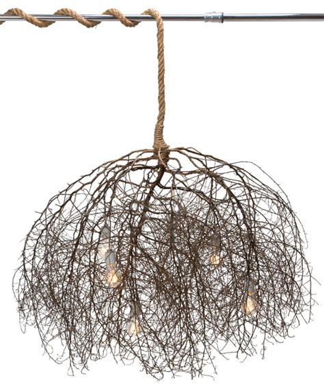 nature chandelier the native chandelier natural rustic chandeliers by