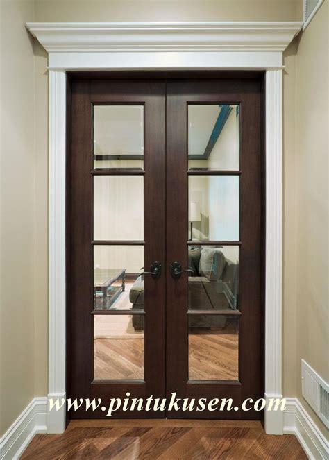 Jual Rockwool Jepara jual pintu rumah minimalis berkaca kp 064 harga murah