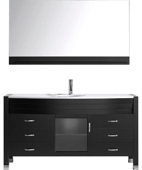 Vanity And Cabinet Set 61 Quot Single Vanity Cabinet Set Contemporary