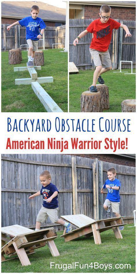 Backyard Warrior Best 25 Backyard Obstacle Course Ideas On