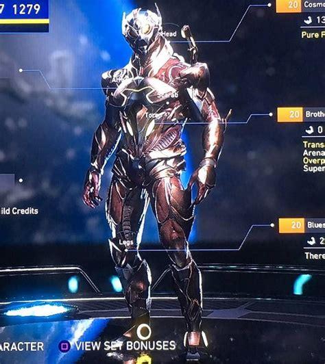 zedd gear injustice 2 more max level gear sets revealed