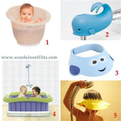 vaschetta bagnetto neonato per doccia accessori per il bagnetto neonato e bambino