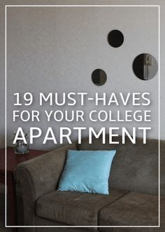 must haves for room college apartments on room college