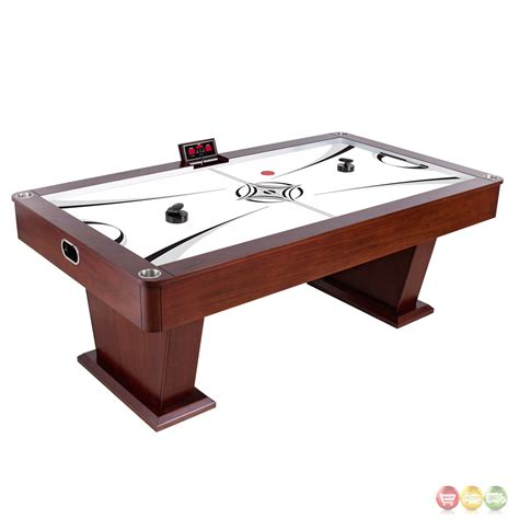 Monarch 7 5 Ft Wood Air Hockey Table With Electronic