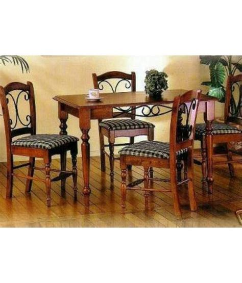 Induscraft 6 Seater Dining Table Set Dining Table Sets Homeshop18 Induscraft 6 Seater Dining Set Table 6 Chairs Buy Induscraft 6 Seater Dining