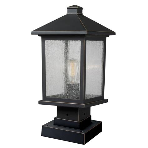 design house lighting products filament design malone 1 light oil rubbed bronze outdoor