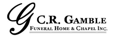 c r gamble funeral home chapel almonte on
