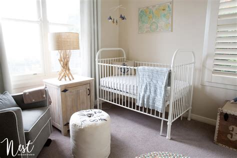 nest design studio instagram alec s coastal nursery project nursery