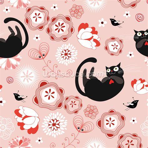 pattern cat dinding contemporary cat wallpaper for walls creativity whatsapp