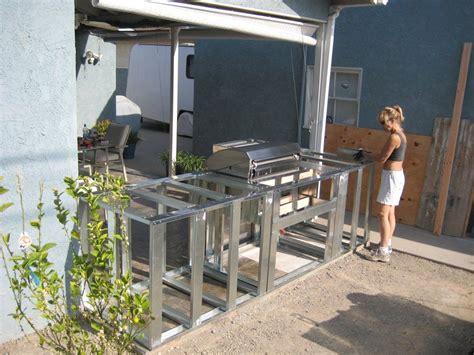 diy outdoor kitchen island resplendent outdoor kitchen frame plans with minimalist