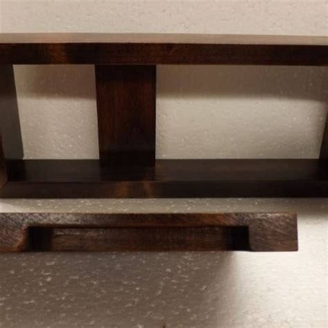 shelf above bathroom sink hand crafted small wooden shelf cabinet for above bathroom