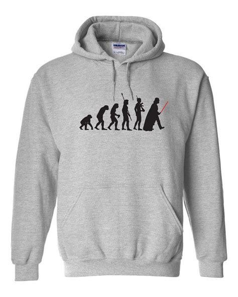 Hoodie Darth Vader Evolution Darth Vader Evolution Mens Hoodie Hooded Sweatshirt