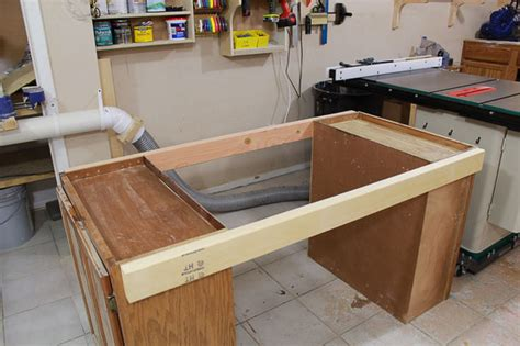 how to make a bench saw how to make an outfeed table out of plywood table with bench