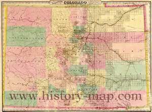 colorado city and county map colorado map