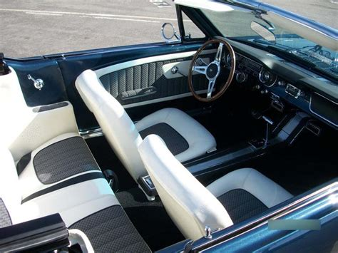 Ford Mustang Upholstery by 1965 Ford Mustang Custom Convertible 130453