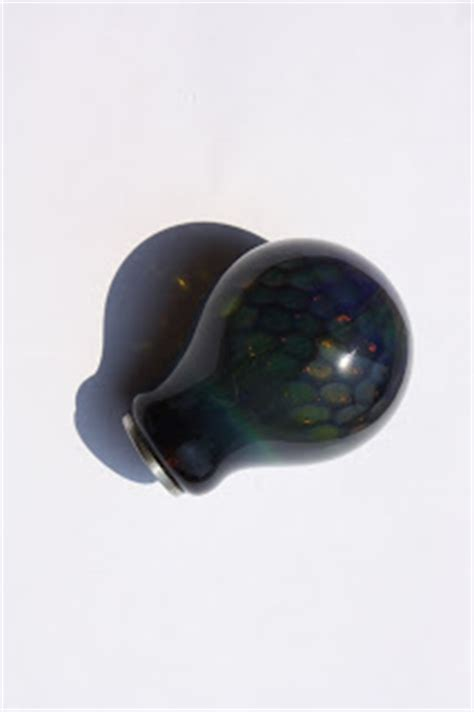 bare knuckle choppers new blown glass shift knobs