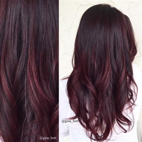mahogany with dark brown highlights 50 brilliant balayage hair color ideas to inspire your