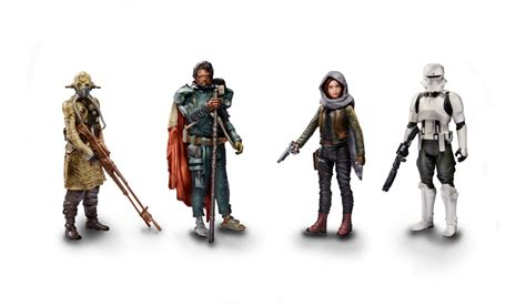 Hasbro Wars Rogue One 3 75 Galen Jyn Erso Figure Wave 4 New In S hasbro has unveiled more rogue one toys for friday