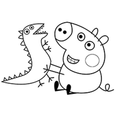 peppa pig coloring pages printable pdf peppa pig coloring pages bestofcoloring com