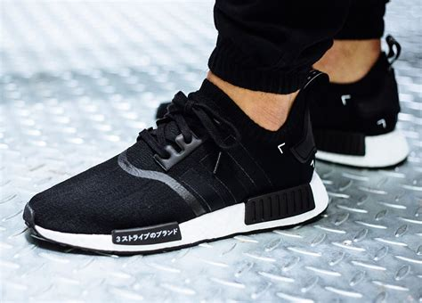 adidas nmd r1 pk primeknit vapour grey black japan boost