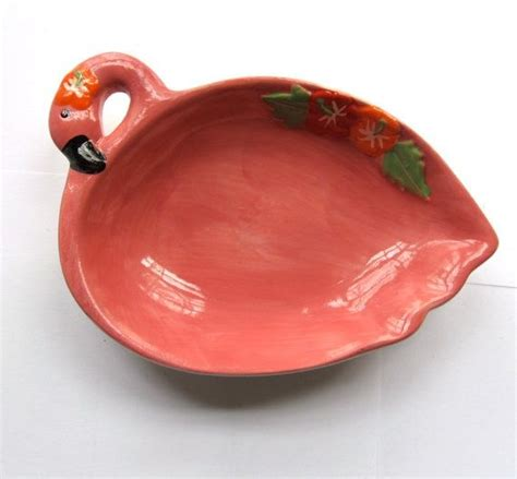 Vintage flamingo decore pink flamingo soap dish vintage bathroom decor vintage bathro
