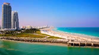 To Miami Miami Wallpapers The City Skyline Across The