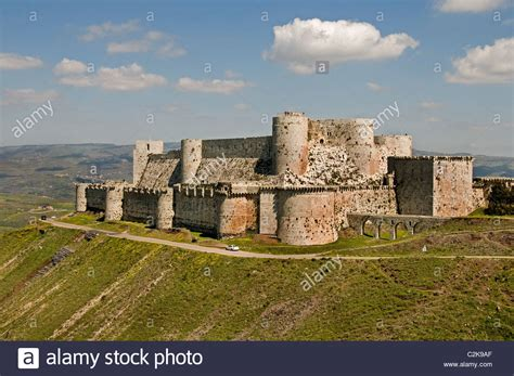 krak des chevaliers syria crac krak des chevaliers castle of the