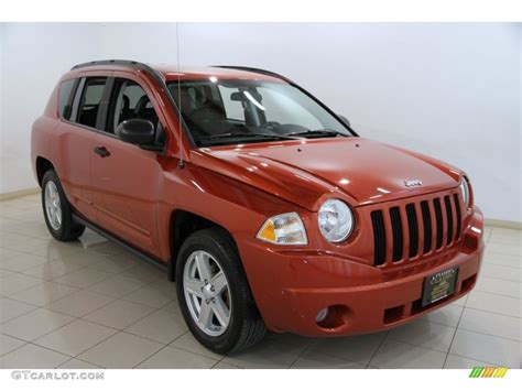 orange jeep compass 2009 sunburst orange pearl jeep compass sport 87911170