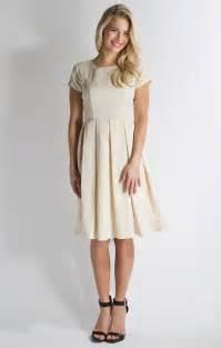 winter frolic modest dress in egret white or