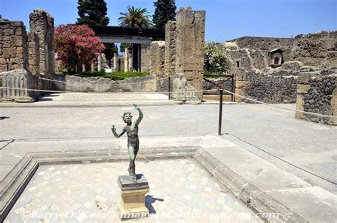 House Of The Faun Pompeii by Ancient Pompeii Italy