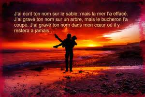 phrases d amour photos d amour