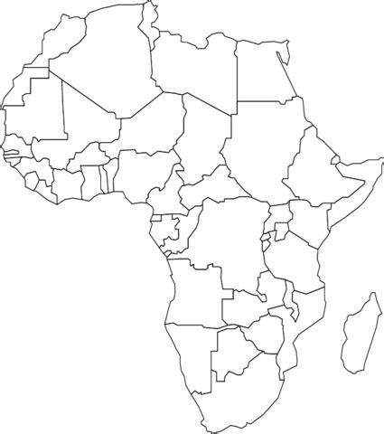 africa map for coloring n 225 pady do školky května 2013