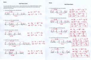 oxidation reduction reaction worksheet abitlikethis