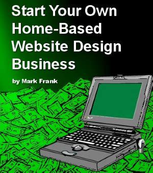 home based web design business home based website design business start up tools and