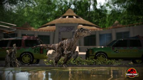 mod for jurassic world the game jurassic park aftermath by metonymic on deviantart