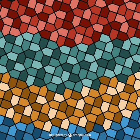 colors islamic mosaic vector premium download retro mosaic background vector free download