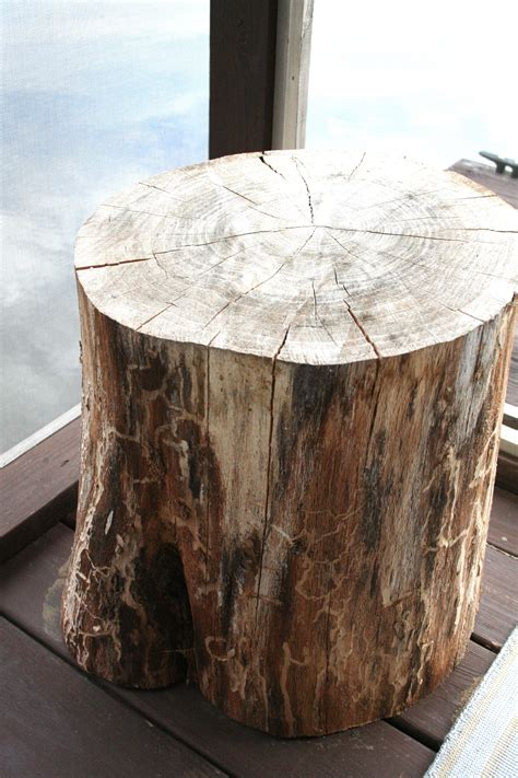 tree stump side table tree stump side table refresh restyle