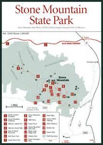 carolina state parks map sherpa guides carolina mountains