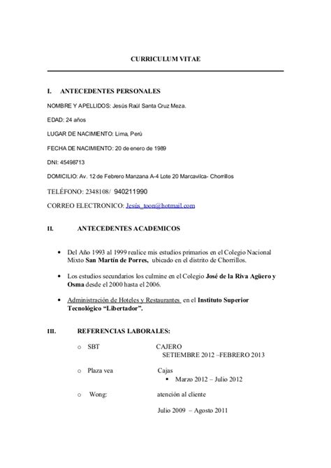Resume Template Libreoffice by Libreoffice Resume Template