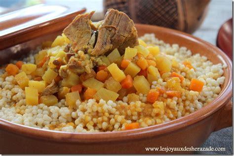 cuisine alg駻ienne couscous couscous algerien el mardoud