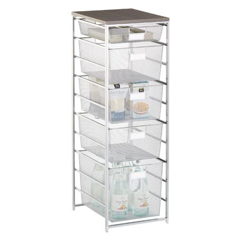 cabinet organizers the container store platinum cabinet sized elfa mesh pantry storage the